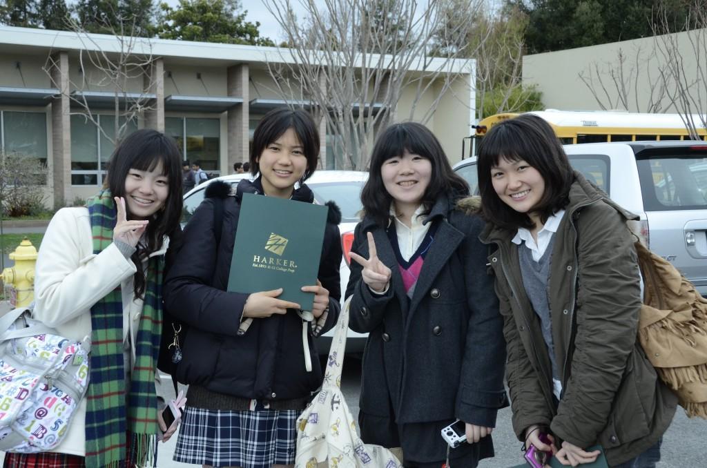 Harker Aquila : Tamagawa students visit Upper School