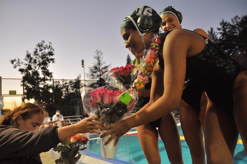 Water Polo Seniors Recognized