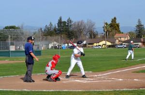 Boys baseball beats University High 7-2