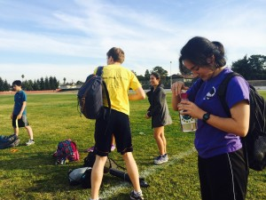 Track and field begins conditioning