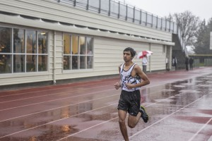Track and field attends first meet of the season in pouring rain