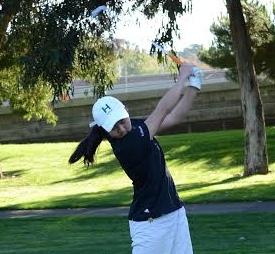 Freshman golfer places second at CCS