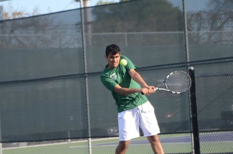 Boys' varsity tennis defeats Priory to maintain their undefeated record