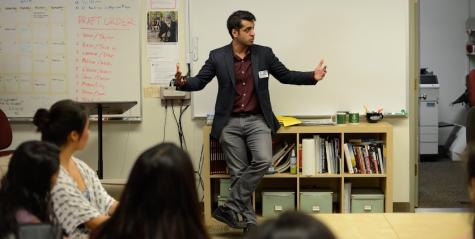 Al-Jazeera America's Wajahat Ali speaks to students