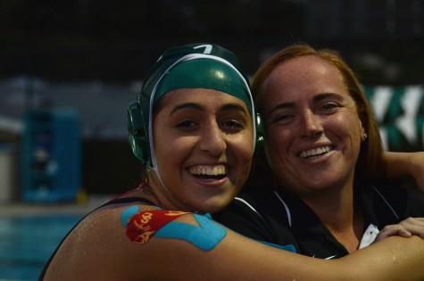 Varsity girls water polo loses to Santa Clara on senior night