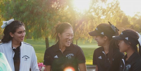 Varsity girls golf defeats Mercy Burlingame on senior night