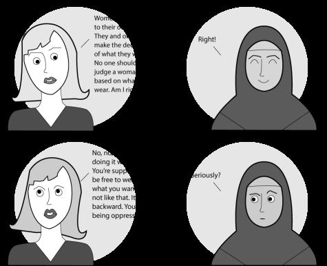 Debate on headwear highlights cultural double standard