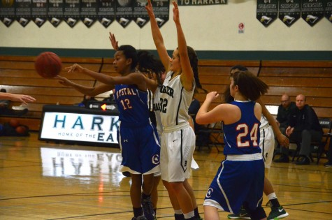 Varsity girls basketball wins second league match against Crystal Springs