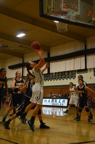 Girls varsity basketball loses close game to King's Academy