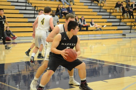 Varsity boys basketball loses to Menlo