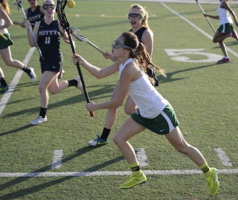 Varsity girls lacrosse loses 14-3 to Archbishop Mitty in season opener