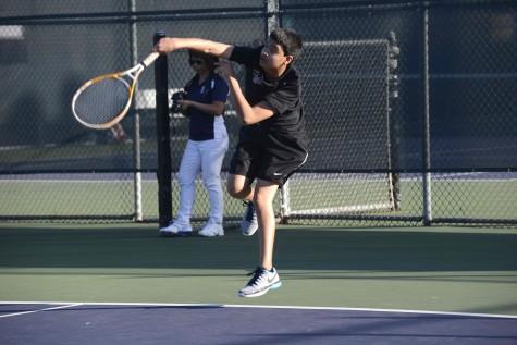 Boys tennis wins season opener against King's Academy