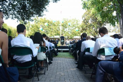 Freshman class welcomed during matriculation ceremony