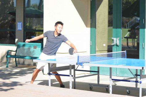 Pingpong table becomes exclusive to seniors