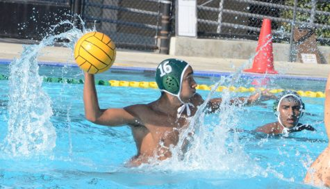 Varsity boys' water polo loses to Lynbrook High School