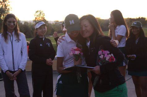 Girls golf loses to Castilleja on senior night