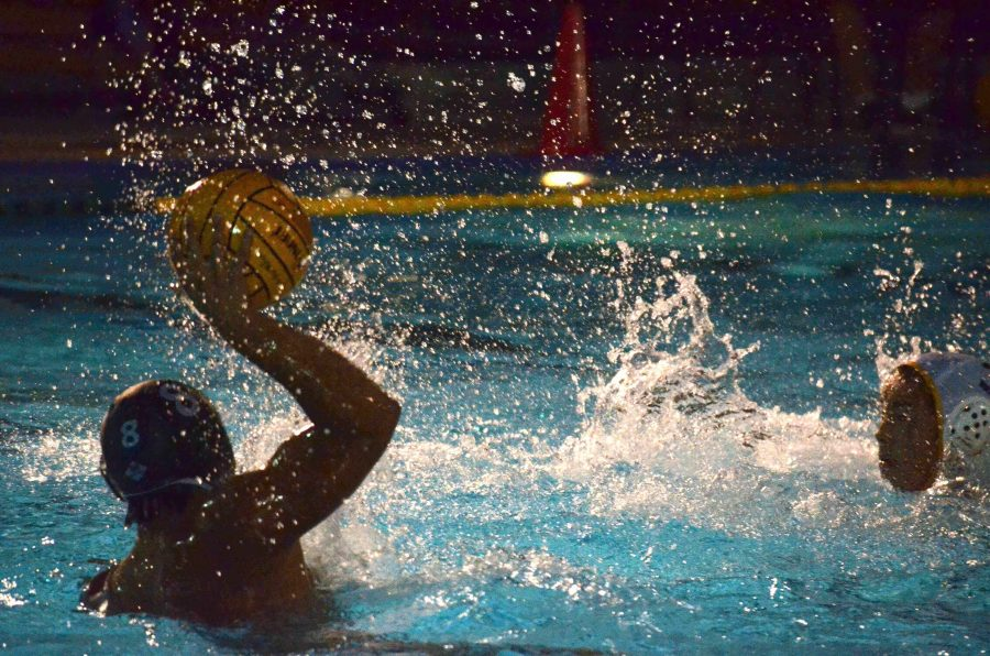 Boys water polo defeats Milpitas High School on senior night 20-4
