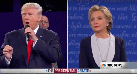 Hillary Clinton and Donald Trump participate in second presidential debate