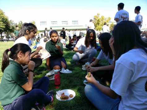 Sophomores attend first Eagle Buddies event of school year