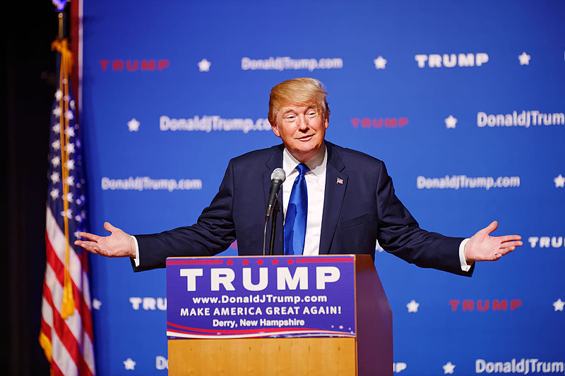 Donald Trump wins 2016 presidential election