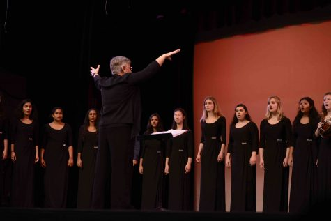 Conservatory groups perform in annual Holiday Show