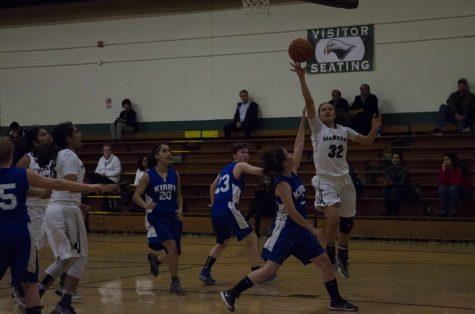 Girls varsity basketball wins first home game of season against Kirby Prep