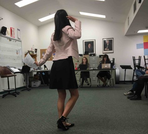 Students audition for High School Musical