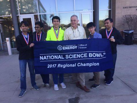 Science Bowl team wins 2017 regionals