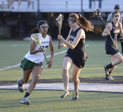 Head girls' lacrosse coach makes her debut