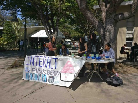 Interact Club raises money in support of Syrian refugees