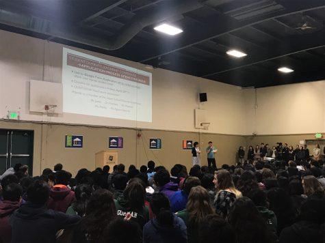 School meeting recap 4/18