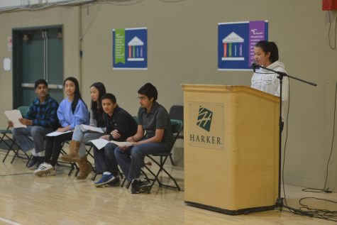 Students vote on class council and honor council representatives for the next school year