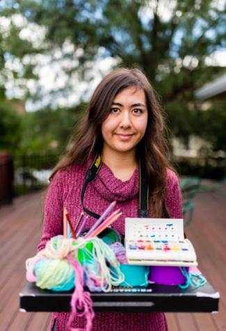 Humans of Harker: Alexa Gross intertwines science and art