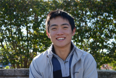 Humans of Harker: Lucas Wang finds success by staying true to himself