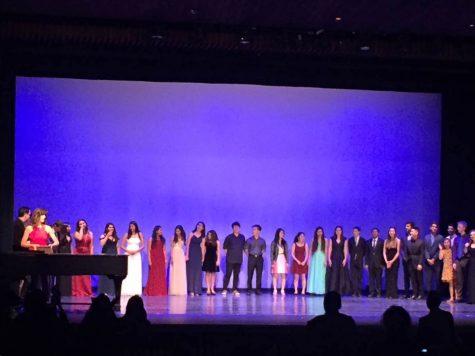 2017 performing arts certificate seniors honored at annual Senior Showcase