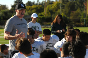 NFL quarterback Jeff Garcia pays visit to football team