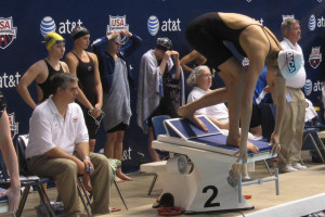 Brother and sister set personal bests at swimming nationals