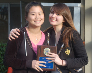 Live learn and lead: Small group of upper school students win two gold awards