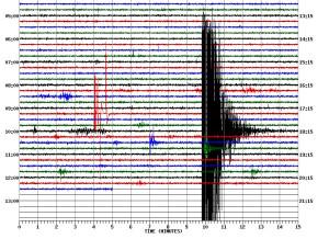 Earthquake jolts campus