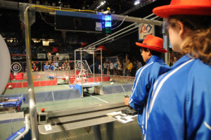 Robotics team competes in annual FIRST event