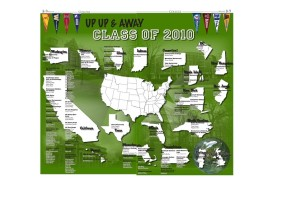 2010 College Map