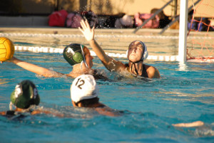 Boys and girls water polo play home opener