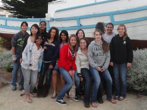 Tennis team successful at tournament in Monterey