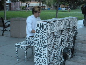 """""""Play Me, I'm Yours"""" brings pianos to downtown San Jose"""