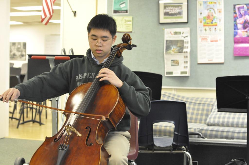 Talent: Student cellist triumphs