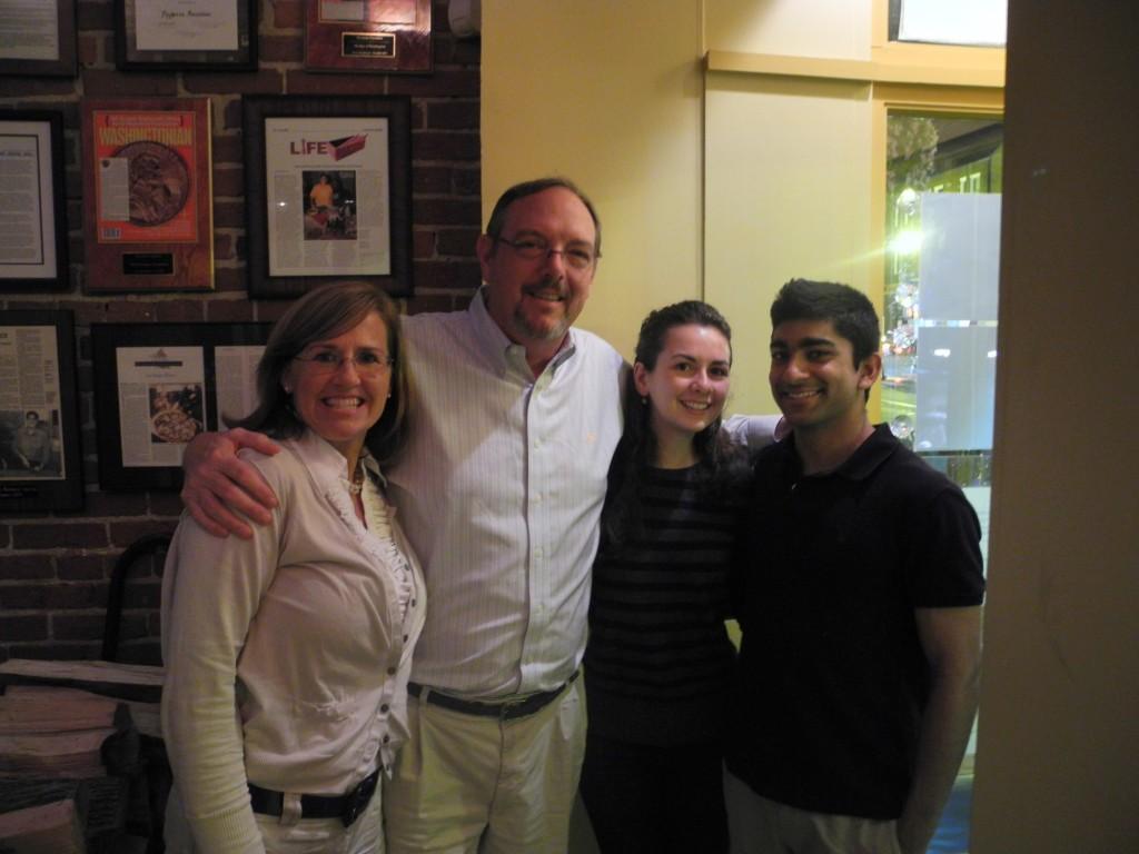 Kellers visit alumni in Washington D.C.
