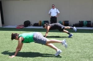 Forbes runs summer workout program
