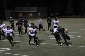 Varsity football wins first game of the season