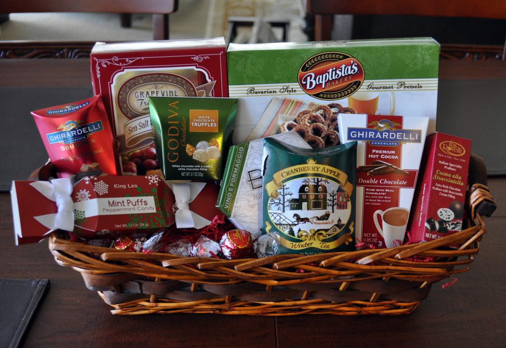 For Friends And Family A Gift Basket Full Of One 27s Favorite