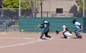 Varsity softball team beats Castilleja 6-5